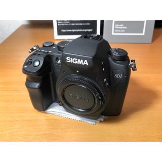 SIGMA - 良品:SIGMA SD1 Merrill ボディ/予備バッテリー付き