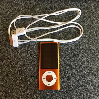 アップル(Apple)のiPod nano 第5世代 オレンジ 8GB(ポータブルプレーヤー)