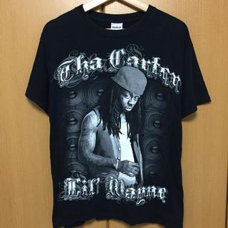 アップルバム(APPLEBUM)のLIL' WAYNE Tシャツ ブラック(Tシャツ/カットソー(半袖/袖なし))