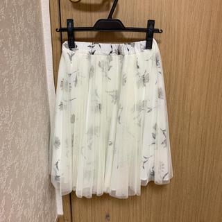 プロポーションボディドレッシング(PROPORTION BODY DRESSING)のエディットコロン♡チュールスカート(ひざ丈スカート)