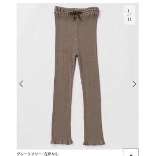 イエナ(IENA)の専用 babaco cotton ribbed pants パンツ(レギンス/スパッツ)