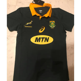 asics - 新品未使用 正規品ラグビー南アフリカ代表ジャージ