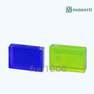 新品 スキンピールバー 2個 AHAマイルド AHA サンソリット 青 緑