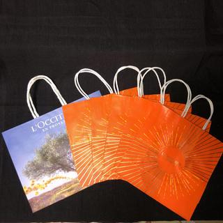 ロクシタン(L'OCCITANE)のロクシタン 紙袋6点(ショップ袋)