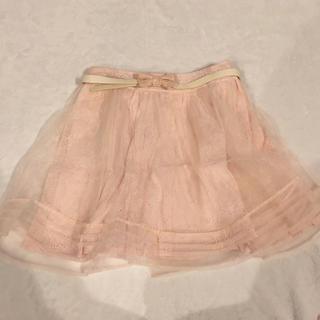 リズリサ(LIZ LISA)のオーガンジースカート(ミニスカート)