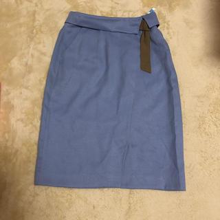 プロポーションボディドレッシング(PROPORTION BODY DRESSING)のキレイメ水色スカート(ひざ丈スカート)