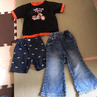 ハーレー(Hurley)の80サイズセット♡ハーレー Tシャツ デニム ハーパン(Tシャツ)