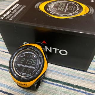 スント(SUUNTO)の志玲さま専用  スントSUUNTOベクター  イエロー(腕時計(デジタル))