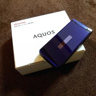 アクオス(AQUOS)のdocomo AQUOS ケータイ SH-01J(携帯電話本体)