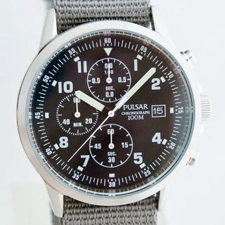 a7157796bb セイコー(SEIKO)の新品 セイコー パルサー ミリタリークロノグラフ 英国軍用時計 民間版