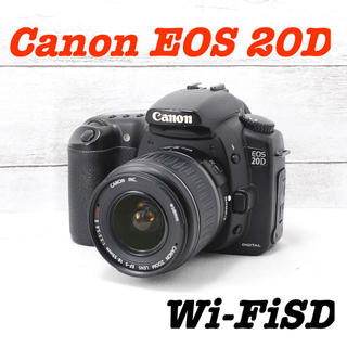 Canon - ❤️バッテリー2個❤️スマホ転送❤️Canon EOS 20D