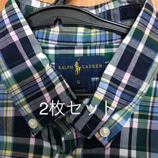 ラルフローレン(Ralph Lauren)のラルフローレン 薄手の長袖シャツ(ブラウス)