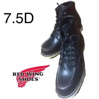 レッドウィング(REDWING)の★新品同様★ REDWING レッドウィング 8130/US7.5 黒 レア品(ブーツ)