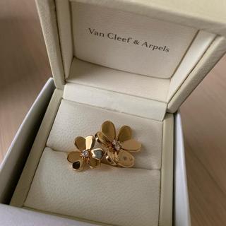 ヴァンクリーフアンドアーペル(Van Cleef & Arpels)のヴァンクリーフ &アーペル フリヴォル アントレ レ ドア リング(リング(指輪))