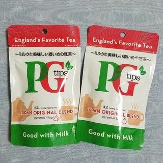 コストコ - ☆ 紅茶 PG Tips ピラミッド型 ティーバッグ 12p × 2 ☆