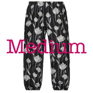 Supreme - Supreme Floral Silk Track Pant 黒M Black