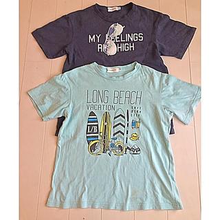 ザショップティーケー(THE SHOP TK)の《お買い得》THE SHOP TK Tシャツ 2枚セット 140(Tシャツ/カットソー)