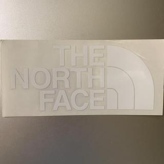 ザノースフェイス(THE NORTH FACE)のTHE NORTH FACE カッティングステッカー セット 白 (登山用品)