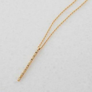 アガット(agete)のagete K18 ダイヤモンド ネックレス ¥57,240(ネックレス)