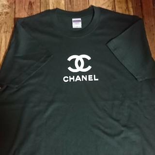 シャネル(CHANEL)のロゴ☆Tシャツ(黒)(Tシャツ(半袖/袖なし))