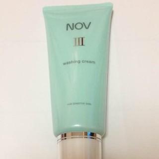 ノブ(NOV)のノブⅢ ウォッシングクリーム 洗顔(洗顔料)