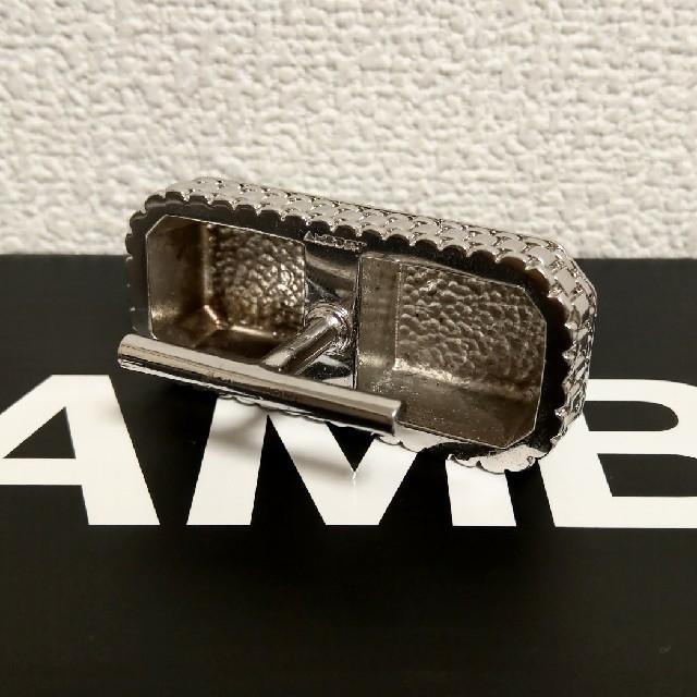 AMBUSH(アンブッシュ)の2 Finger Ring【SILVER】 メンズのアクセサリー(リング(指輪))の商品写真