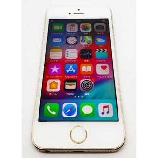iPhone - ●バッテリー新品●iphone5s 32GB●docomo●ゴールド●おまけあり