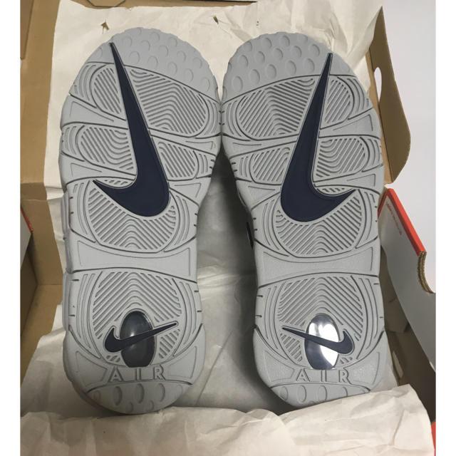 NIKE(ナイキ)の新品◆28.5cm NYC ウルフグレー モアテン more uptempo メンズの靴/シューズ(スニーカー)の商品写真