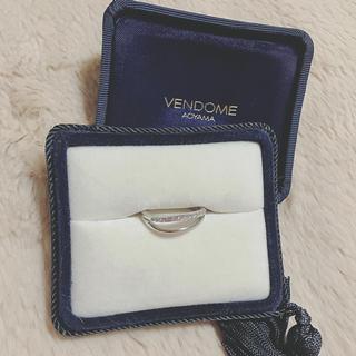 ヴァンドームアオヤマ(Vendome Aoyama)のヴァンドーム青山 ダイヤ 0.14ct 18金ホワイトゴールド 750(リング(指輪))