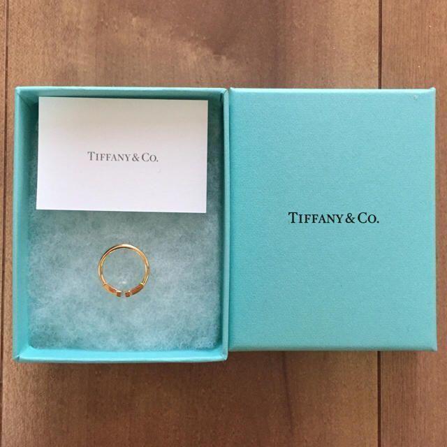 ティファニー(正規品) T字リング レディースのアクセサリー(リング(指輪))の商品写真