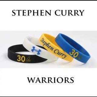 ステファン カリー ラバーバンド 4個セット バスケット NBA(ブレスレット)