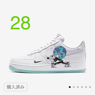 NIKE - NIKE AIR  FORCE 1 EARTH DAY COLLECTION