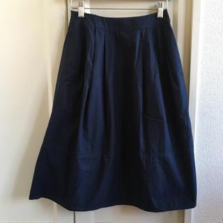MUJI (無印良品) - 無印良品 MUJI ネイビースカート S