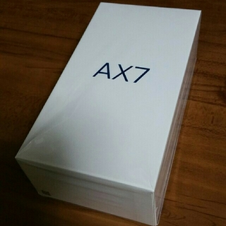 アンドロイド(ANDROID)のOPPO AX7 ゴールド SIMフリー 未使用(スマートフォン本体)