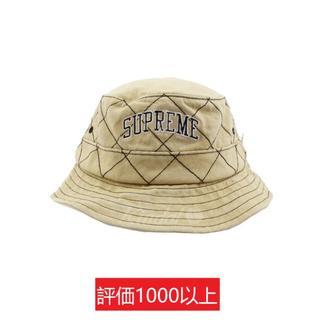 シュプリーム(Supreme)のSupreme Diamond Stitch Crusher 茶S/M(ハット)
