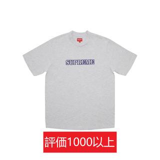 シュプリーム(Supreme)のSupreme Floral Logo Tee 灰L(Tシャツ/カットソー(半袖/袖なし))