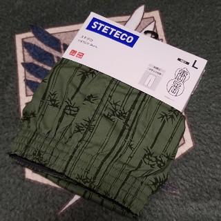 ユニクロ(UNIQLO)の【新品】ユニクロ ステテコ メンズLサイズ(ショートパンツ)