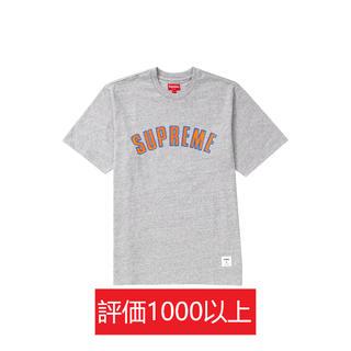 シュプリーム(Supreme)のSupreme Printed Arc S/S Top 灰L(Tシャツ/カットソー(半袖/袖なし))