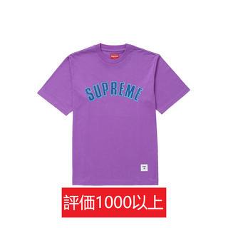 シュプリーム(Supreme)のSupreme Printed Arc S/S Top 紫L(Tシャツ/カットソー(半袖/袖なし))