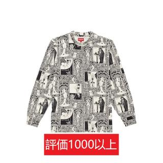 シュプリーム(Supreme)のSupreme Salome L/S Top 黒L(Tシャツ/カットソー(七分/長袖))