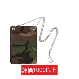 シュプリーム(Supreme)のSupreme Leather ID Holder + Wallet カモ(その他)