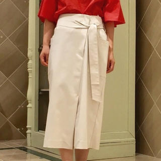 ナノユニバース(nano・universe)のIラインポケットスカート(ひざ丈スカート)