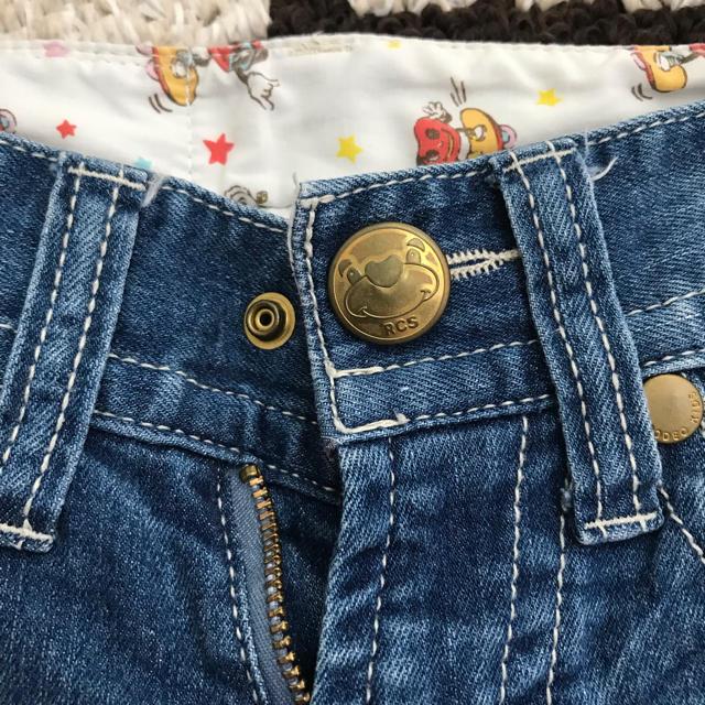 RODEO CROWNS WIDE BOWL(ロデオクラウンズワイドボウル)のRODEO CROWNS ハーフパンツ キッズ/ベビー/マタニティのキッズ服 女の子用(90cm~)(パンツ/スパッツ)の商品写真