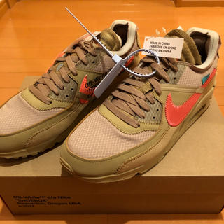 NIKE - THE 10 NIKE AIRMAX 90  off white 27.5cm