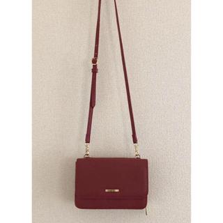 シマムラ(しまむら)のお財布ポシェット 美品 3way(ショルダーバッグ)