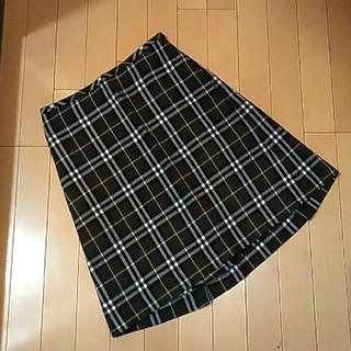 バーバリー(BURBERRY)の♥バーバリー 正規品 ノバチェック ひざ丈 スカート(ひざ丈スカート)
