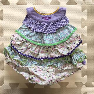 アナスイミニ(ANNA SUI mini)のANA SUI ベビー服  セットアップ フリーサイズ(60-80)(ロンパース)