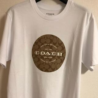 コーチ(COACH)のコーチ シグネチャーTシャツ(Tシャツ/カットソー(半袖/袖なし))