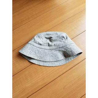 ベビーギャップ(babyGAP)のbaby Gap ベビーギャップ ハット 帽子 無地 グレー 44(帽子)