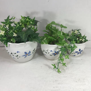 陶器植木鉢 3点セット 若干難あり(プランター)